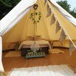 Honeymoon bell tent