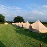 Festival wedding bell tents